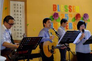 Elder Andre and the Worship Team